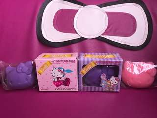 Hello kitty whitening/anti-bacterial soap