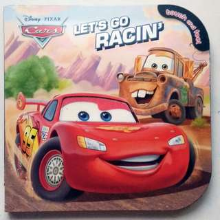 Disney Pixar Cars Let's Go Racin' - Touch & Feel Board Book