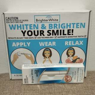 BrighterWhite Teeth Whitening Kit + Teeth Whitening Pen