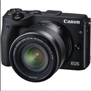 Canon EOS M10 with Canon EF-M 18-55mm f/3.5-5.6 IS STM
