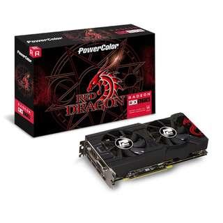 Powercolor RX 570 Red Dragon 4GB