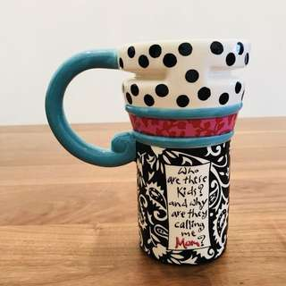 Cute Mom Mum Porcelain Coffee Tea Mug