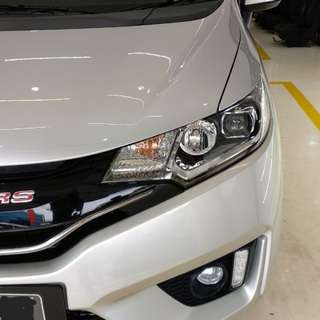 Honda Jazz RS GK5 AT Lunar Silver 2014 Akhir Low KM 19000 Record PMK Pribadi