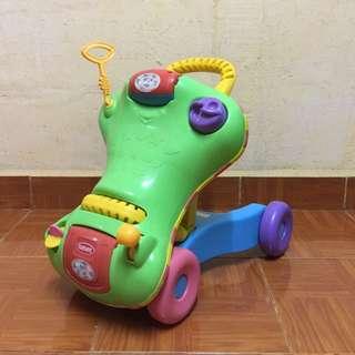 Playskool 2in1 Push Walker & Ride On