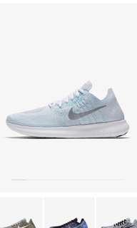 Nike Free RN Flyknit 2017 Women Sport Shoes