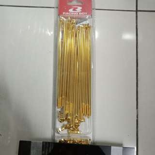 Spoke gold racing boy rcb