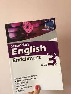 Secondary English enrichment book3