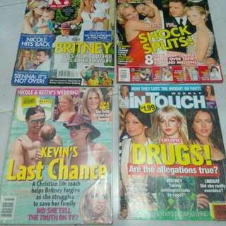 Britney spears magazines