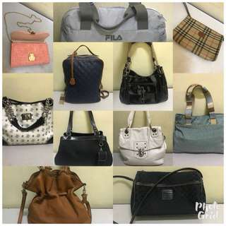 Preloved signature bags