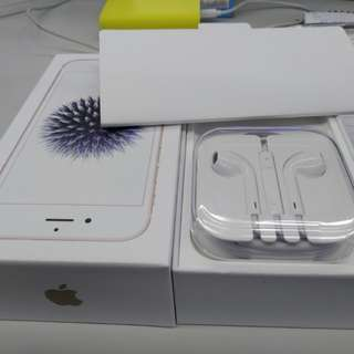 Iphone 6 Box and Headset Only