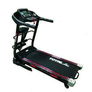 New Treadmill Elektrik tl 622 3 Fungsi 2 hp Auto Incline Terlaris