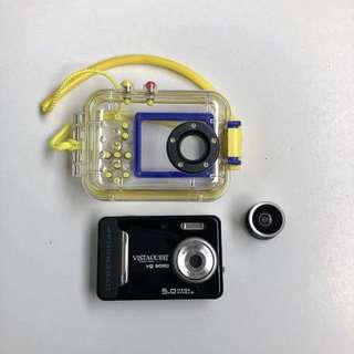 LOMO 📸 VISTA QUEST VQ5090 水陸兩用 數位相機 💡送魚眼鏡頭 💡送防水殼