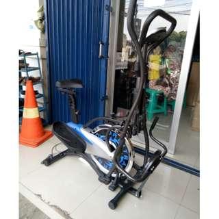 Sepeda Gym Orbitrack 5 Fungsi Dalam 1 Alat Orbitrek Orbitrak Terlaris