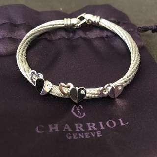 Charriol heart bangle and ring