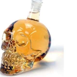 1000ml Skull Head Wine Bottle