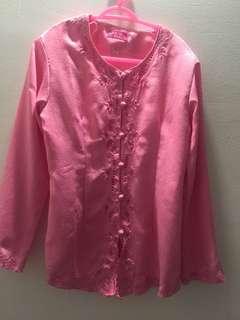 Pink Kebaya with sarong