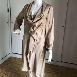 Elegant Silk Dress By Yaya Collection