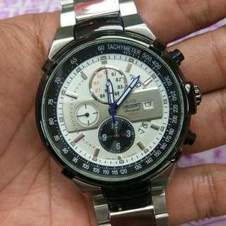 Orient chrono watch original not seiko diver speedmaster