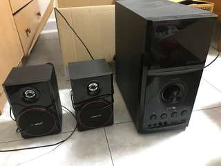 Sonic gear EVO 9 BTMI speakers rarely used sale for 140$, new one is 189$