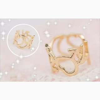 💕 sailor moon ring