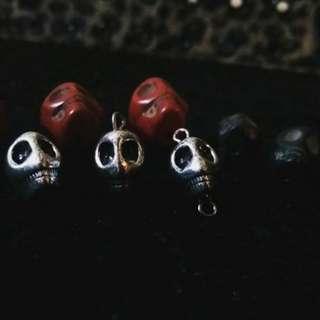 DIY Skulls ( necklace @ earing )