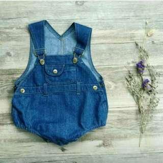 Babies jeans bodysuit