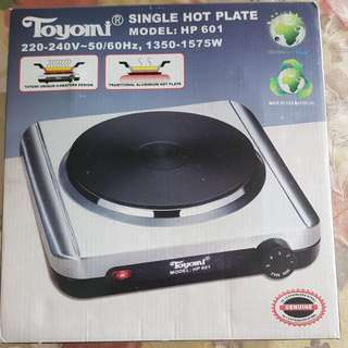 Single top plate