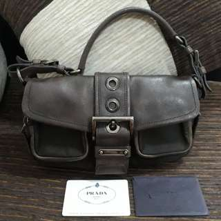 Authentic PRADA BR2555 Shoulder Bag