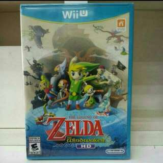 Wii U The Legend Of Zelda The Windwaker HD