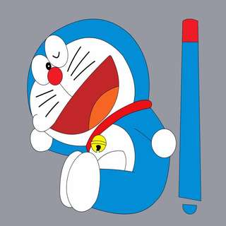 Car Wiper Sticker - Doraemon
