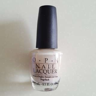 OPI Get Me to the Taj on Time NLI48 (Green Label)