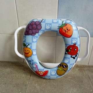 Toilet child seat