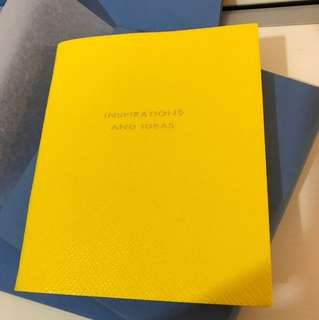 Smythson Inspiration & Ideas notebook