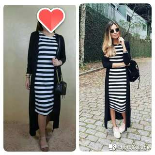 🌞2in1 set dress blazer/ long cardigan