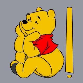Car Wiper Sticker - Winnie The Pooh