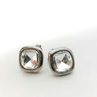 Jacques Lemans Stainless Steel Earrings  Silver color