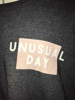 Sweater Unsual Day