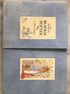 Peter Rabbit , Beatrix Potter, Decoupage