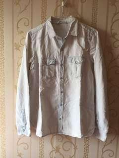Zara Light Denim Shirt