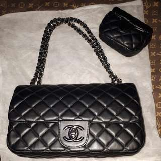 chanel rantai double flap