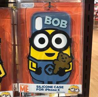 MINION BOB IPHONE X CASE $348
