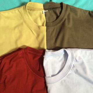 Preloved plain  tees ✨