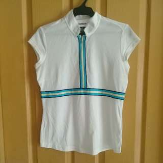 Repriced! Adidas white sports top