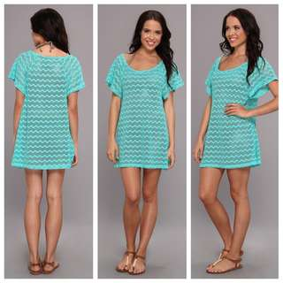 ROXY Free Love Off the Shoulder Dress / Cover Up - Size Small Brand New