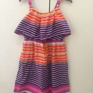 Dress garis anak next