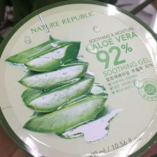 NATURE REPUBLIC ALOE VERA 100% ORI