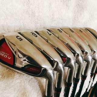 新春降價✨高爾夫 球桿 Maruman 鐵桿組 5~9 ,P,A,S 共八隻 Irons