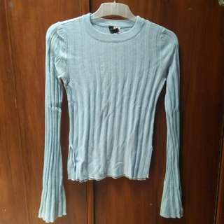 Baby Blue Sweater HnM