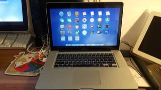 "MacBook Pro 15"" + Apple Cinema Display 27"""