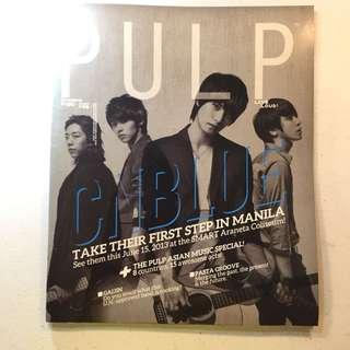 CN blue Pulp Magazine